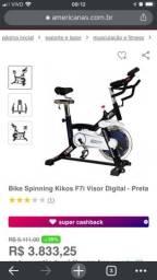 Título do anúncio: Bicicleta ergométrica Kikos spinning