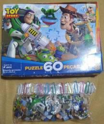 Vendo Quebra Cabeça Toy Story 60 Peças Grow