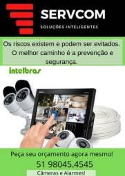 Título do anúncio: Câmeras e Alarmes