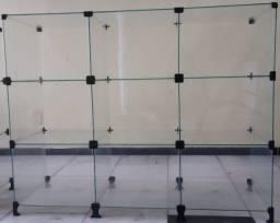 Título do anúncio: Balcões de vidro usados
