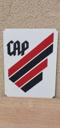 Placa de time Athletico