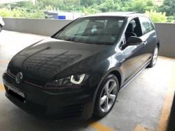 Vw - Volkswagen Golf GTI Cinza Carbono Impecável - 2015