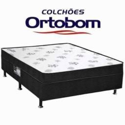 635c452c6c Cama box casal ortobom molas  whats aproveite