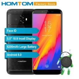 Smartphone HomTom S99 4GB Ram 64GB Rom Câmeras Traseiras Duplas 21.0MP + 2.0M