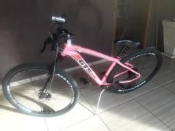 Bicicleta gts aro 29 rosa