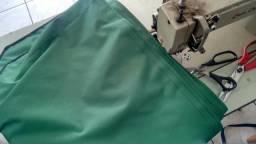 Lona pvc nalhon600 para tenda 3×3 verde