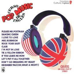 Coleção curso de inglês Pop Music