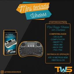 Mini Teclado wireless para Celular, Pc, SmartTV