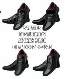Sapatos sociais costurados(apenas 70,00)