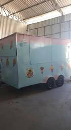 Trailer food truck lindo novo 0 km