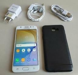 Vendo ou troco Samsung J7 Prime de 32 GB na caixa com NF Valor 600 avista