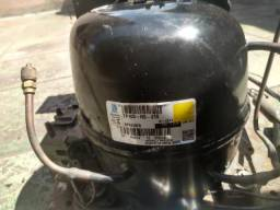 Unidade Condensadora + Compressor 1/3 + R134 220v Tecumseh TP1413ys