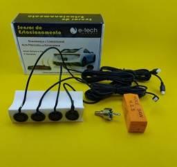 4 Pontos de Reposição ( Para Sensor de Ré ) Preto 19mm