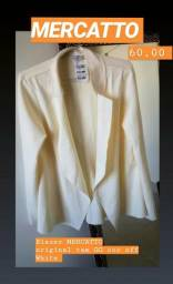 1 Blazer marca Mercatto tam GG original cor off White