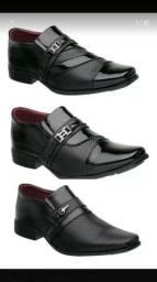 Sapatos sociais costurados