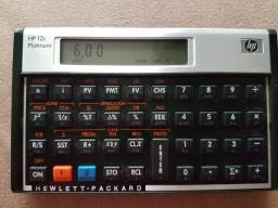 HP 12C Platinum Calculadora Financeira Original Usada