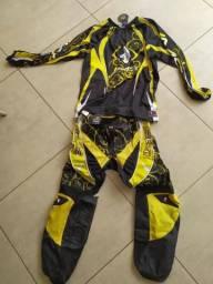Conjunto IMS, calça e camisa, motocross ou trilha