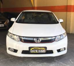 Honda New Civic LXL 1.8 12/12 Flex Mecânico - 2012