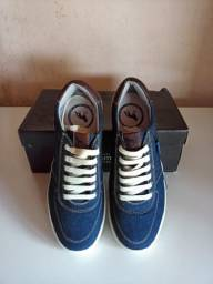 Sapatênis Acostamento Azul Jeans