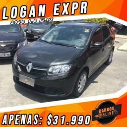 Logan EXPR 2016 1.6 Completo - Preço Black Friday!! Carro Com Qualidade!! - 2016
