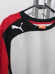 ba5c3ef86 Camisa Puma Masculina Tamanho G Dry Fit Usada Poucas Vezes