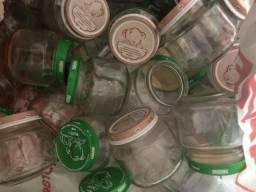 Pote de vidro papinha Nestlé vazio