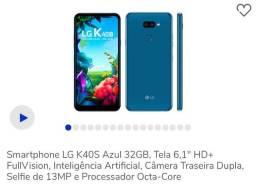 Celular Lg K40s. (Foto Demostrativa)