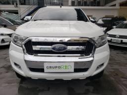 Ford Ranger XLT 2.5 Flex 34.000KM Cabine Dupla Completo Couro Rodas Toda equipada