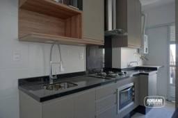Apartamento com 2 dormitórios para alugar, 68 m² por R$ 2.750,00/mês - Abraão - Florianópo