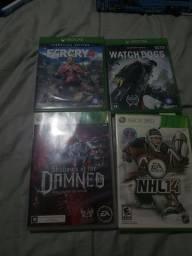 Jogos Xbox one e 360