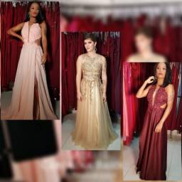 Vestidos de Festa Espetaculares De todos os tipos cores e Tamanhos