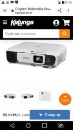 Vendo um projetor em otima qualidade o melhor do mercado (passo o cartao)