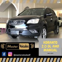 Korento GL 2.0 AWD Manual, oportunidade, financiamos até 100%