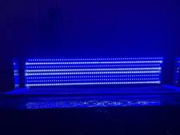 Luminária aquário marinho 168w