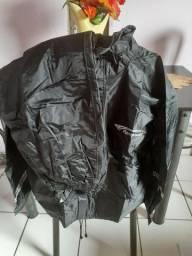 Conjunto capa motoqueiro