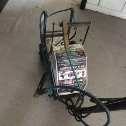 Carrinho carregador de bateria