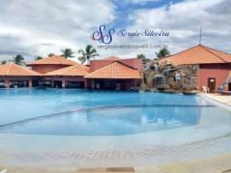 Apartamento à venda no Aquaville Resort térreo mobiliado Porto das Dunas