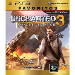 Game Uncharted 3: Drake`s Deception - Favoritos - PS3 Promoção