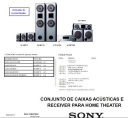 Home Theater Sony Completo - Ref.: HT-DDW1500