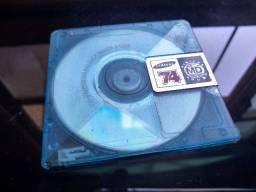 Mini Disc Samsung MD 74min