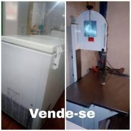Freezer e serra fita para açougue