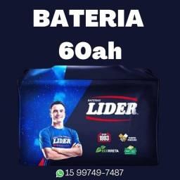 Título do anúncio: Bateria Lider 60ah disk entrega
