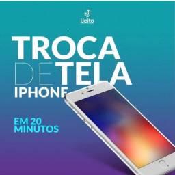 Display iPhone - Qualidade premium. Troca em 20 minutos.