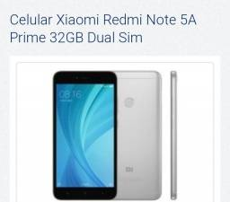 Título do anúncio: Xiaomi redmi note 5A prime