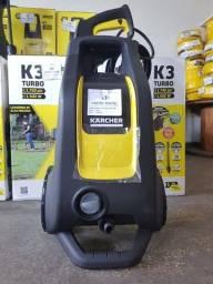 Título do anúncio: Lavadora de Alta Pressão Karcher K3 Turbo 1500W Amarelo/Preto