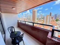 Apartamento com 147m², 3 quartos com varandas, 2 vagas - Tambauzinho