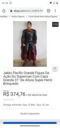 Jakks Pacific Grande Figura De Ação Do Superman Com Capa