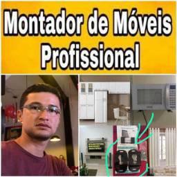 Título do anúncio: MONTADOR MOVEIS , SUPORTE DE TV 50$$, LEVO E INSTALO.
