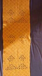 Chapinha para alizar cabelos e passadeira em crochê
