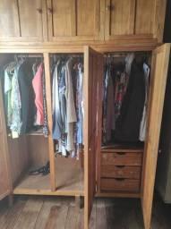 Guarda roupa e bicama